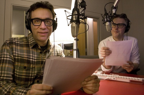 Fred Armisen and Ira Glass
